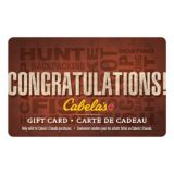 Picture of Cabela's Canada Gift Card - Congratulations