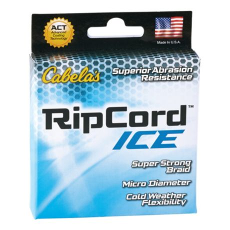 Cabela s ripcord ice line cabela 39 s canada for Cabela s fishing line