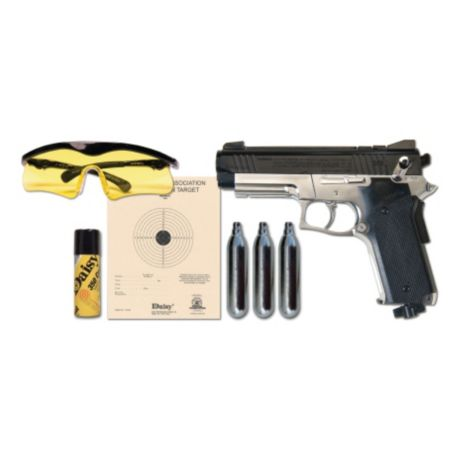 Daisy Powerline 693 BB Pistol Shooting Kit