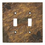 Picture of Big Sky Carvers Stonecast Double Switch Plate Covers