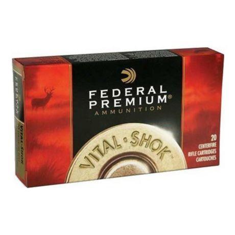 Federal Premium Vital Shok Ammunition - Trophy Bonded Bear Claw