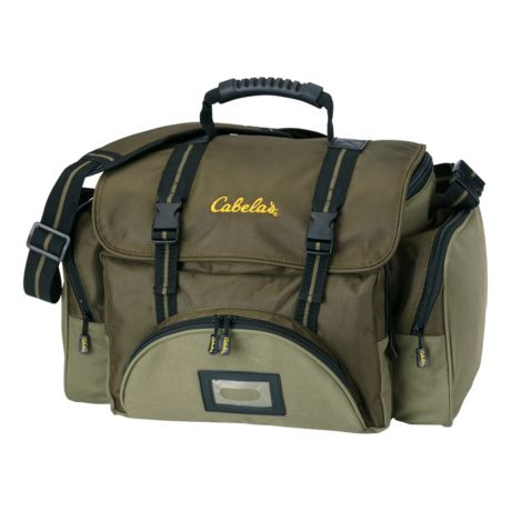 Cabela 39 s deluxe gear bag cabela 39 s canada for Cabelas fishing backpack