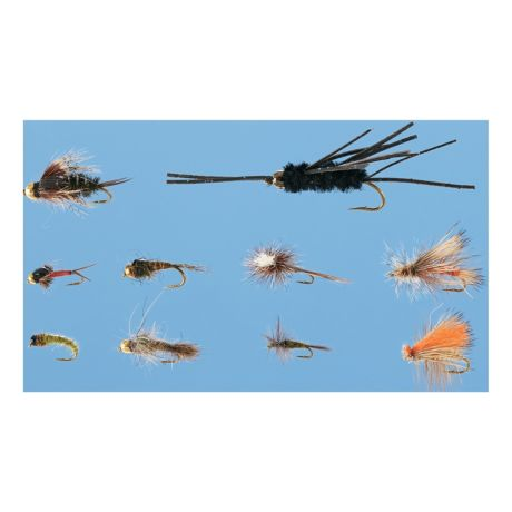 Cabela 39 s 20 piece western fly assortment cabela 39 s canada for Cabelas fly fishing