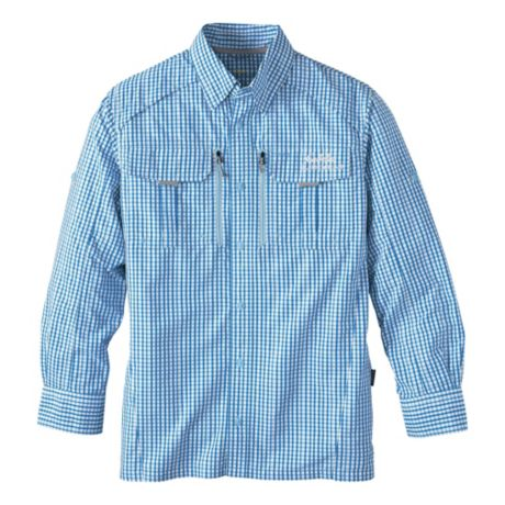 Cabela 39 s guidewear woven long sleeve shirt with 4most upf for Cabela s columbia shirts