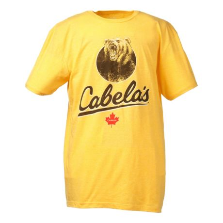 Cabela s premium monster grizzly short sleeve t shirt for Cabela s columbia shirts