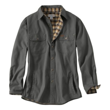 carhartt weathered canvas shirt jacket cabela 39 s canada