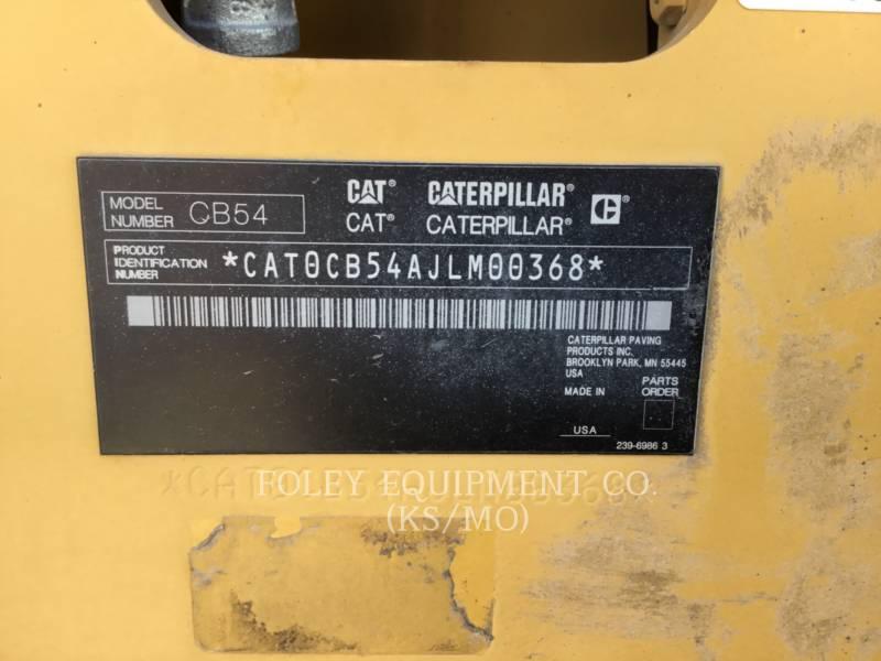 CATERPILLAR コンパクタ CB54XW equipment  photo 6