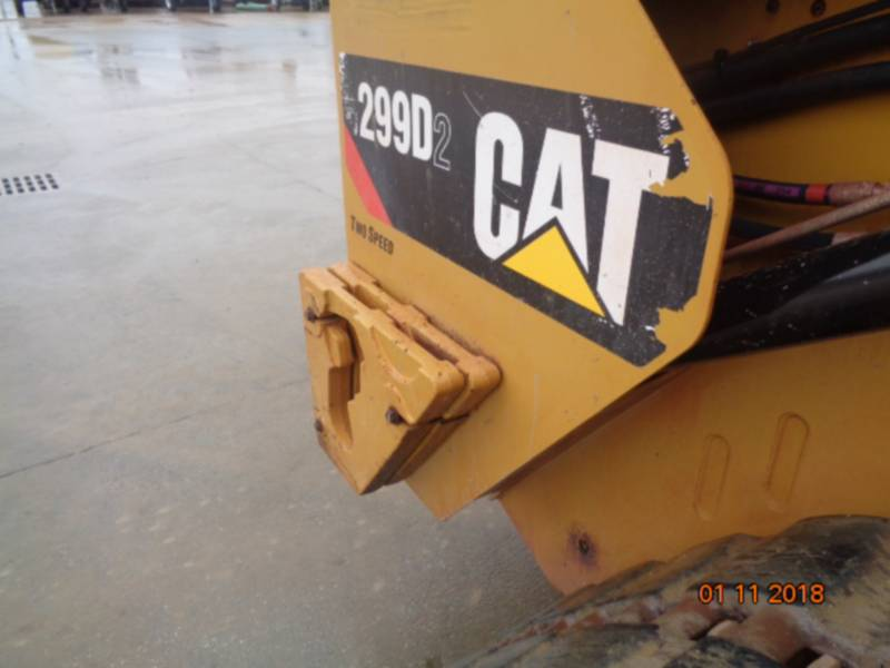 CATERPILLAR UNIWERSALNE ŁADOWARKI 299D2 equipment  photo 16