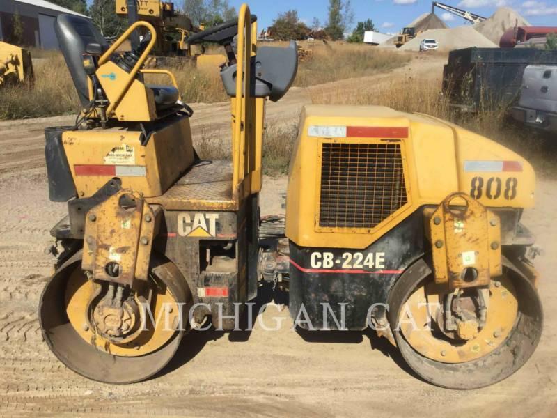 CATERPILLAR COMPACTEURS TANDEMS VIBRANTS CB224E equipment  photo 15