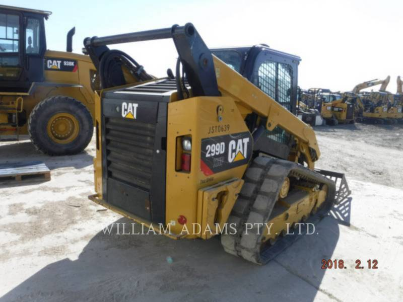 CATERPILLAR PALE CINGOLATE MULTI TERRAIN 299D XHP equipment  photo 3