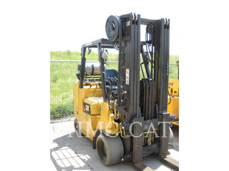 CATERPILLAR LIFT TRUCKS FORKLIFTS GC55KSPR4_MC equipment  photo 1