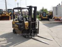 MITSUBISHI CATERPILLAR FORKLIFT CHARIOTS À FOURCHE GP15N equipment  photo 2