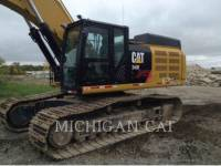 CATERPILLAR TRACK EXCAVATORS 349EL equipment  photo 22