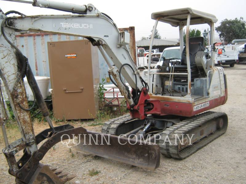 TAKEUCHI MFG. CO. LTD. TRACK EXCAVATORS TB135 equipment  photo 2