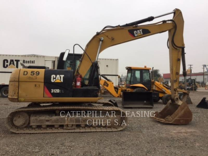 CATERPILLAR PELLES SUR CHAINES 312D2L equipment  photo 4