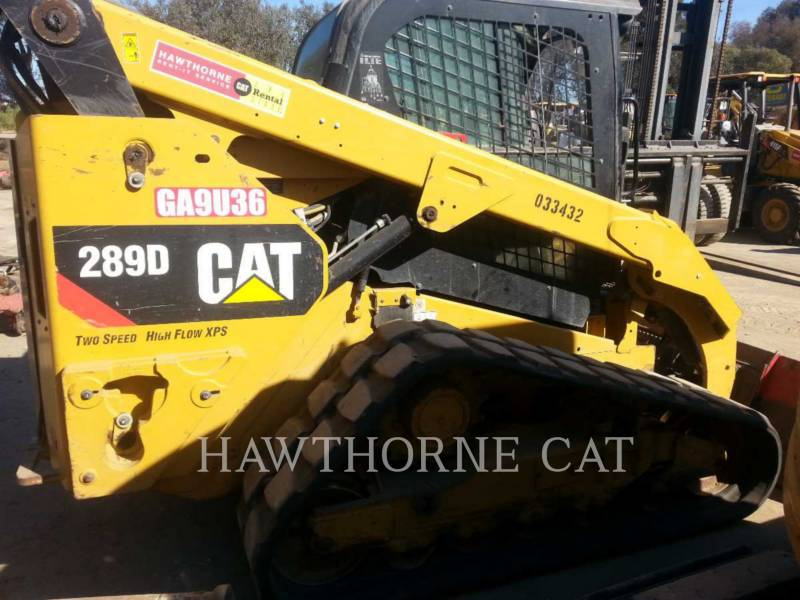 CATERPILLAR SKID STEER LOADERS 289D CABHF equipment  photo 4