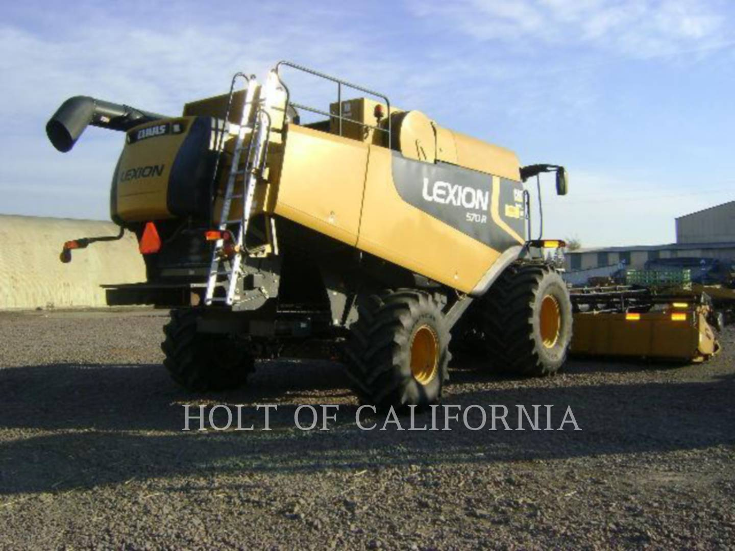 Detail photo of 2010 Lexion 570R GT10585 from Construction Equipment Guide