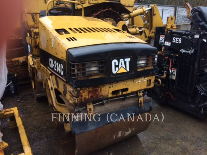 CATERPILLAR TANDEMVIBRATIONSWALZE, ASPHALT CB-214C equipment  photo 3