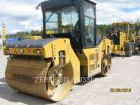 Equipment photo CATERPILLAR CB54B VIBRATORY DOUBLE DRUM ASPHALT 1