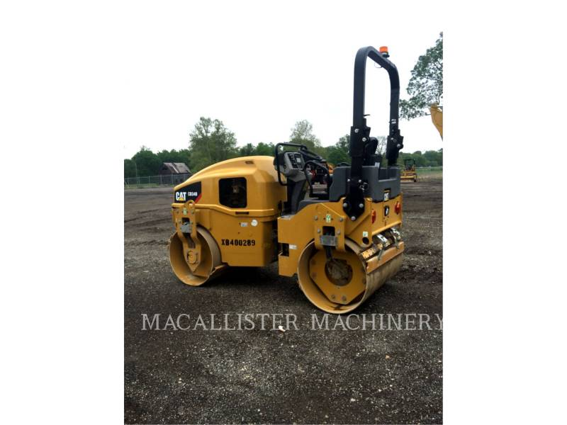 CATERPILLAR TANDEMOWY WALEC WIBRACYJNY DO ASFALTU (STAL-STAL) CB34B equipment  photo 1
