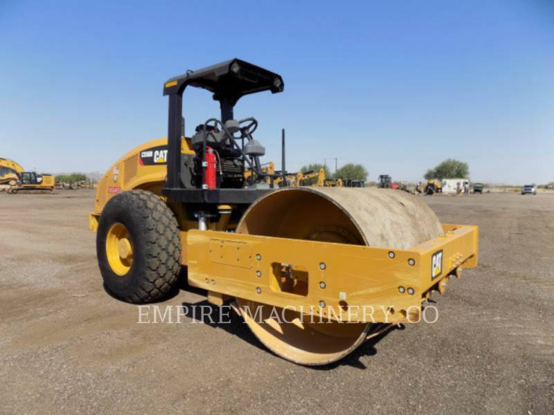 CATERPILLAR EINZELVIBRATIONSWALZE, BANDAGE CS56B equipment  photo 1