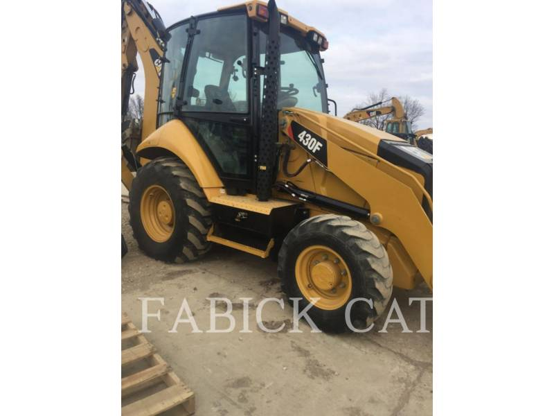 CATERPILLAR BAGGERLADER 430F HT equipment  photo 1