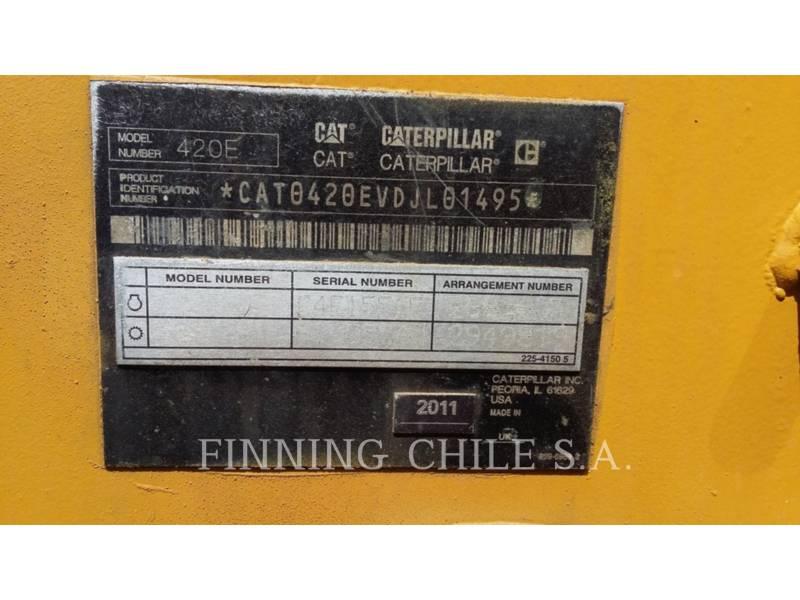 CATERPILLAR BAGGERLADER 420E equipment  photo 9