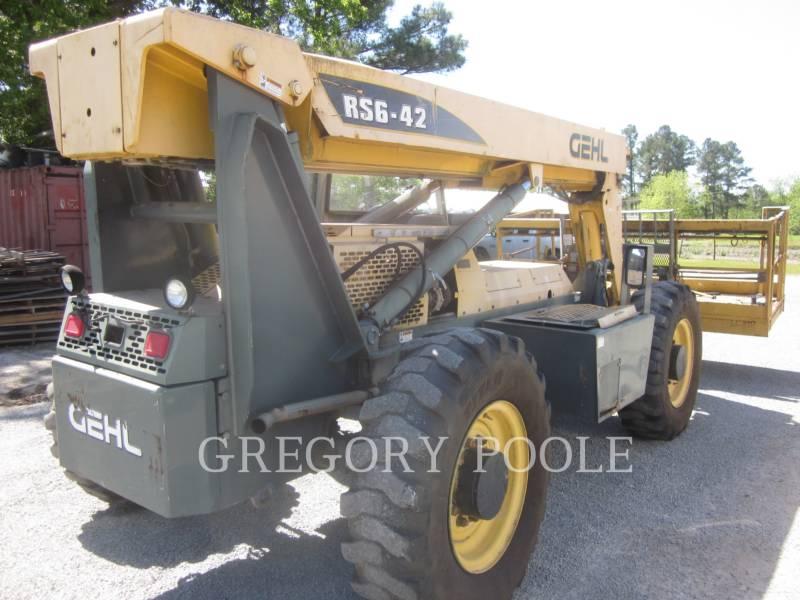 GEHL COMPANY TELEHANDLER RS642 equipment  photo 2