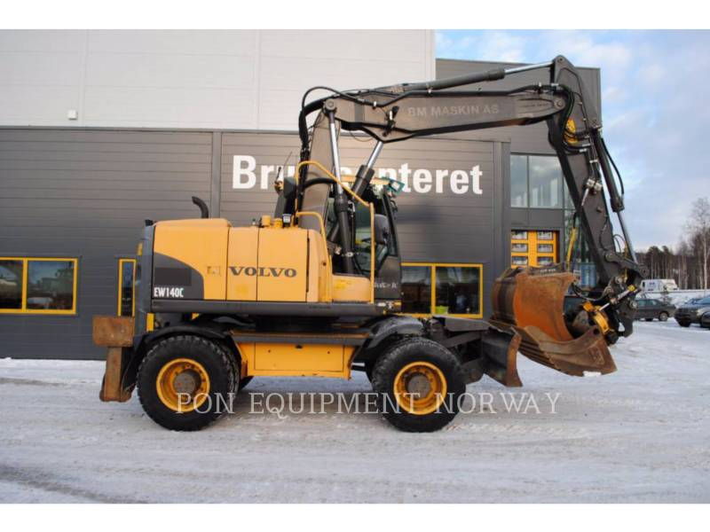 VOLVO PELLES SUR CHAINES EW140C equipment  photo 2