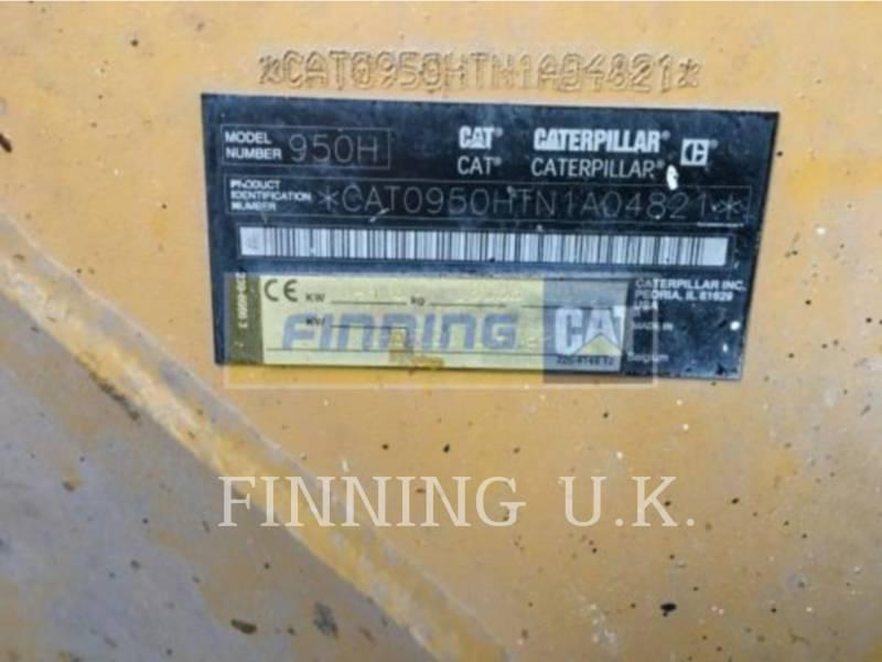 CATERPILLAR ホイール・ローダ/インテグレーテッド・ツールキャリヤ 950H WASTE equipment  photo 8