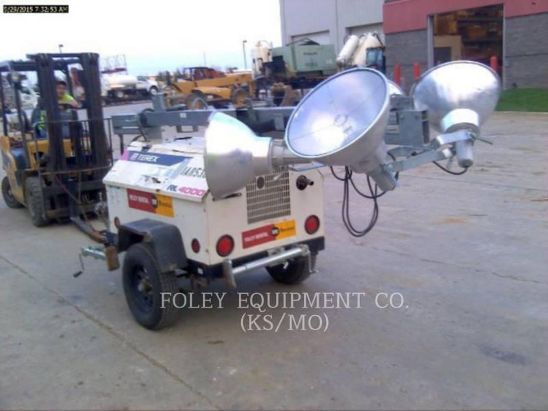 TEREX CORPORATION LIGHT TOWER RL4000 equipment  photo 3