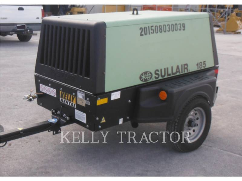 SULLAIR COMPRESSOR DE AR 185DPQ equipment  photo 4