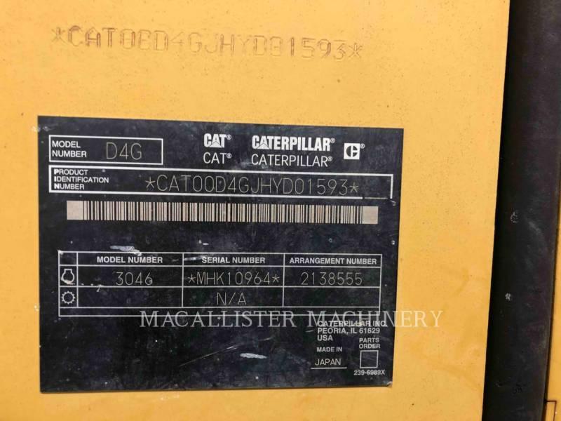 CATERPILLAR TRACTORES DE CADENAS D4GXL equipment  photo 5