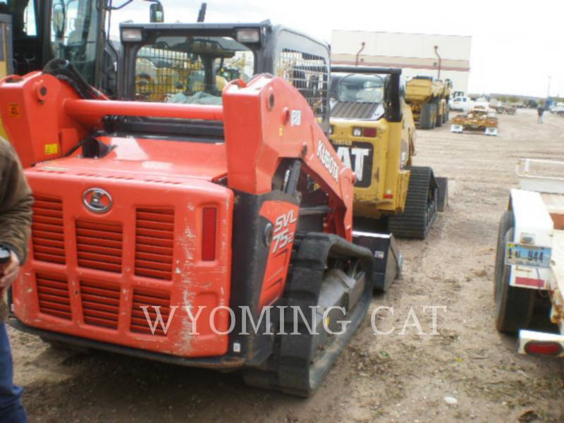 KUBOTA TRACTOR CORPORATION SKID STEER LOADERS SVL75-2 equipment  photo 6