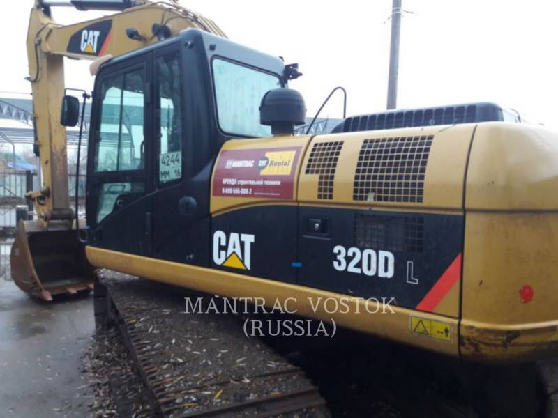 CATERPILLAR KOPARKI GĄSIENICOWE 320 D L equipment  photo 1