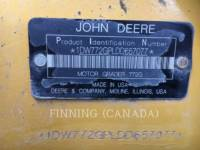 JOHN DEERE MOTORGRADER 772G equipment  photo 14