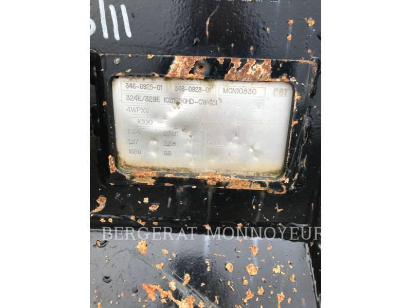 CATERPILLAR KETTEN-HYDRAULIKBAGGER 329 E L equipment  photo 16