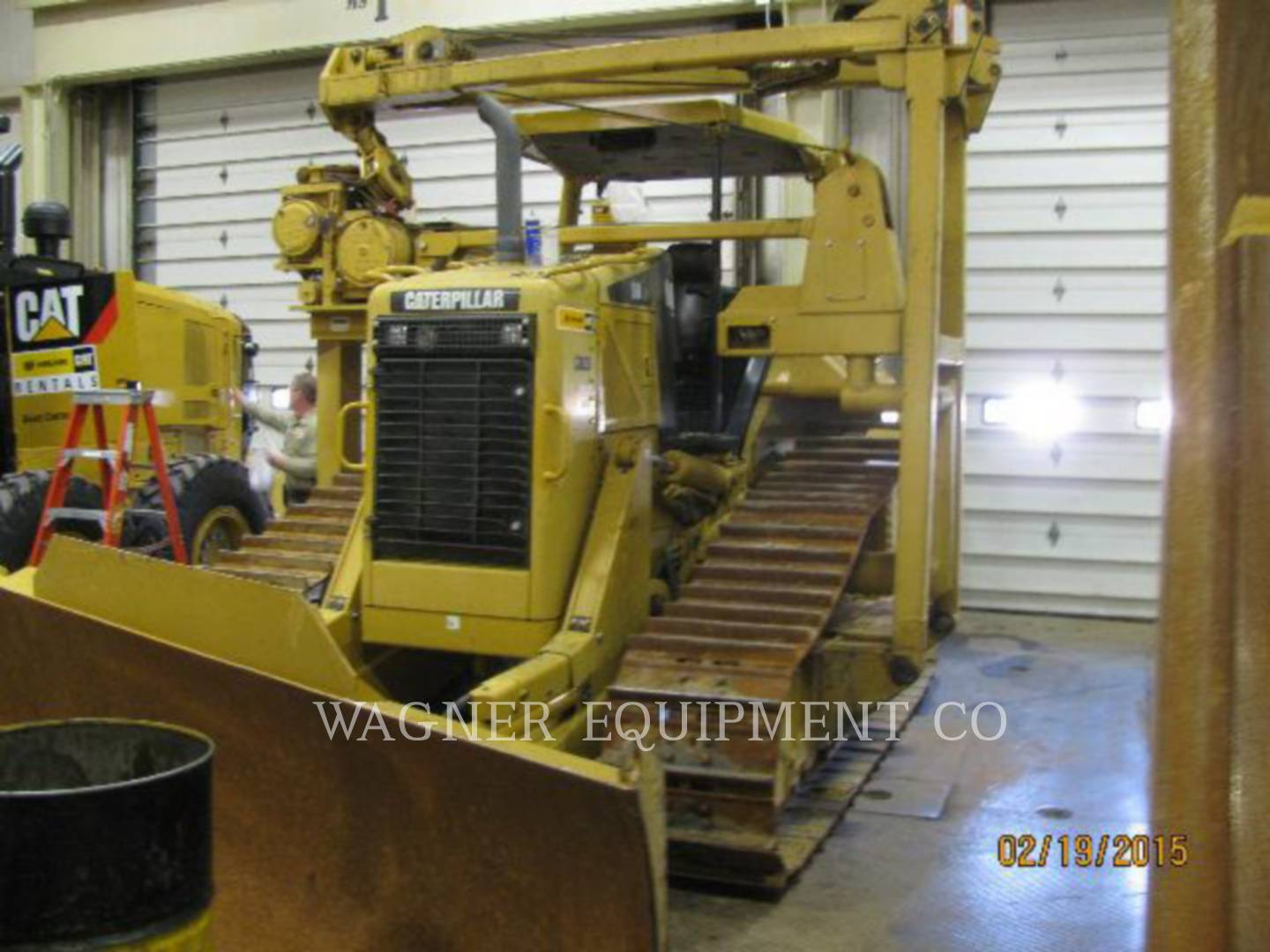 Detail photo of 2008 Caterpillar D6N from Construction Equipment Guide