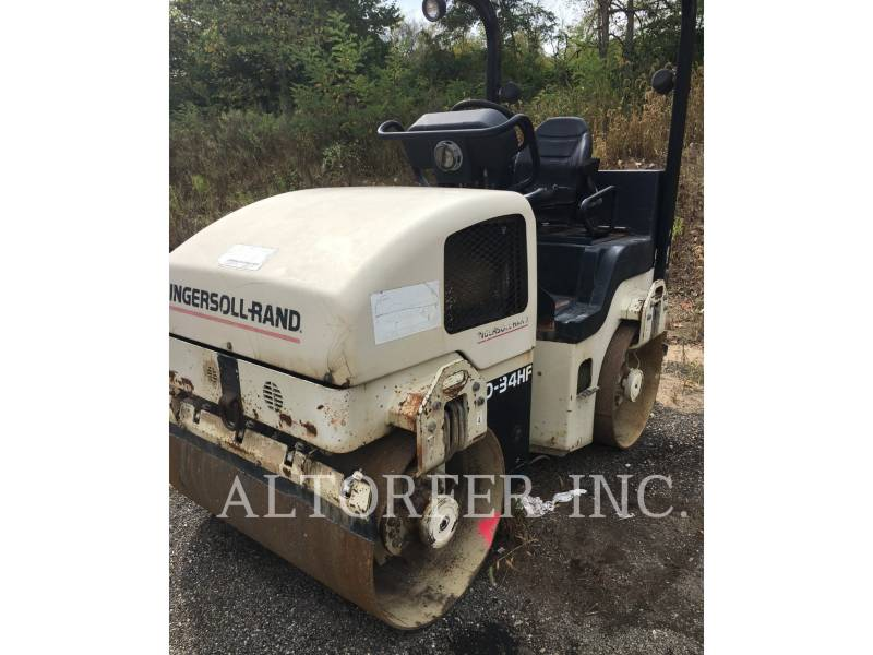 INGERSOLL-RAND COMPACTEURS TANDEMS VIBRANTS DD34HF equipment  photo 1