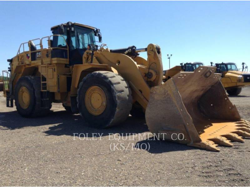 CATERPILLAR PALA GOMMATA DA MINIERA 988K equipment  photo 2