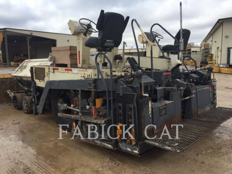 INGERSOLL-RAND ASPHALT PAVERS PF3200 equipment  photo 3