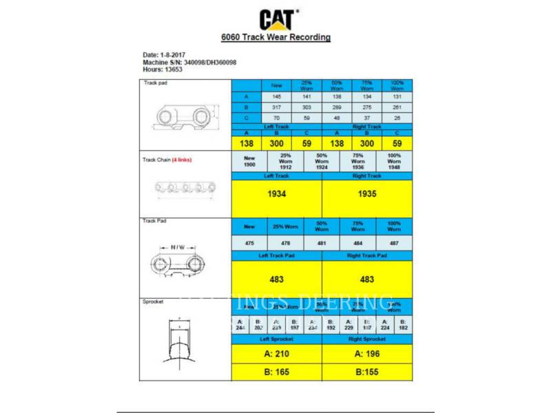 CATERPILLAR 大規模鉱業用製品 6060FS equipment  photo 8