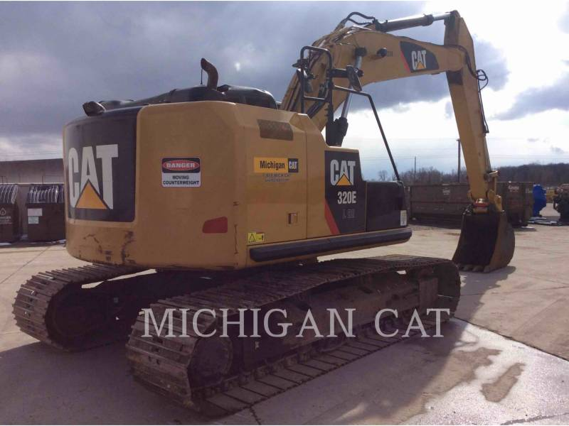 CATERPILLAR EXCAVADORAS DE CADENAS 320EL RRQ equipment  photo 4