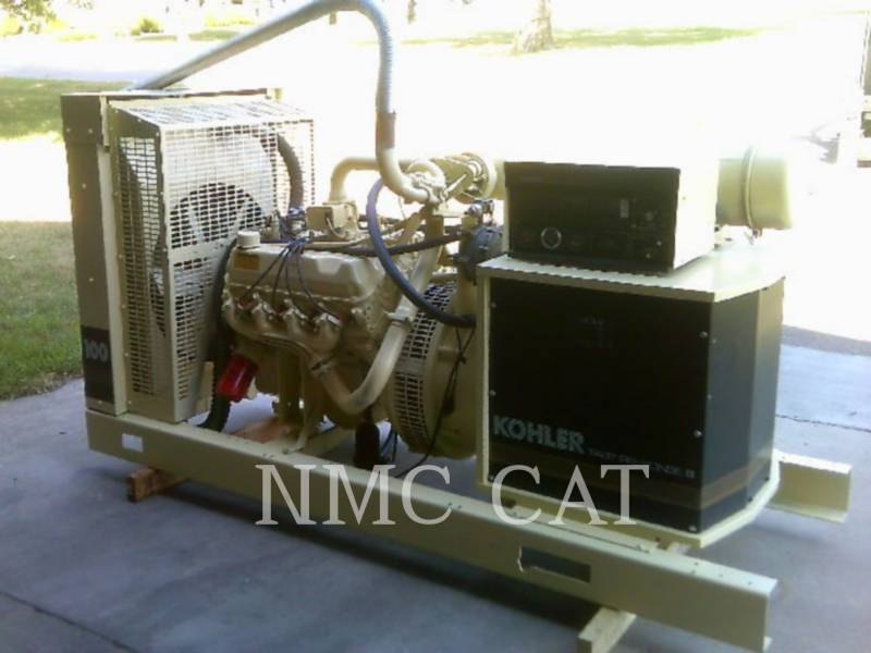 KOHLER STATIONARY GENERATOR SETS 100RZ282 equipment  photo 2