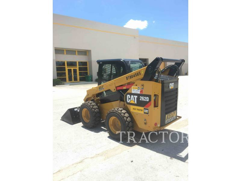 CATERPILLAR MINICARGADORAS 262D equipment  photo 5