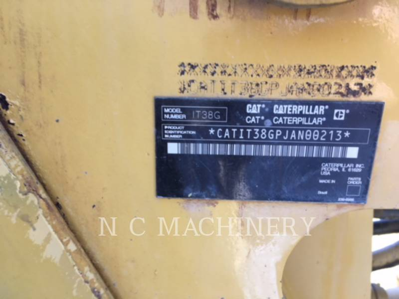 CATERPILLAR WHEEL LOADERS/INTEGRATED TOOLCARRIERS IT38G equipment  photo 10