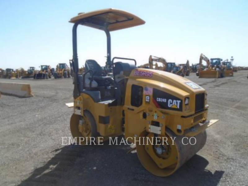 CATERPILLAR TANDEMOWY WALEC WIBRACYJNY DO ASFALTU (STAL-STAL) CB24B LT equipment  photo 1