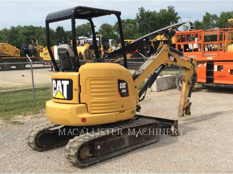CATERPILLAR EXCAVADORAS DE CADENAS 303E equipment  photo 3