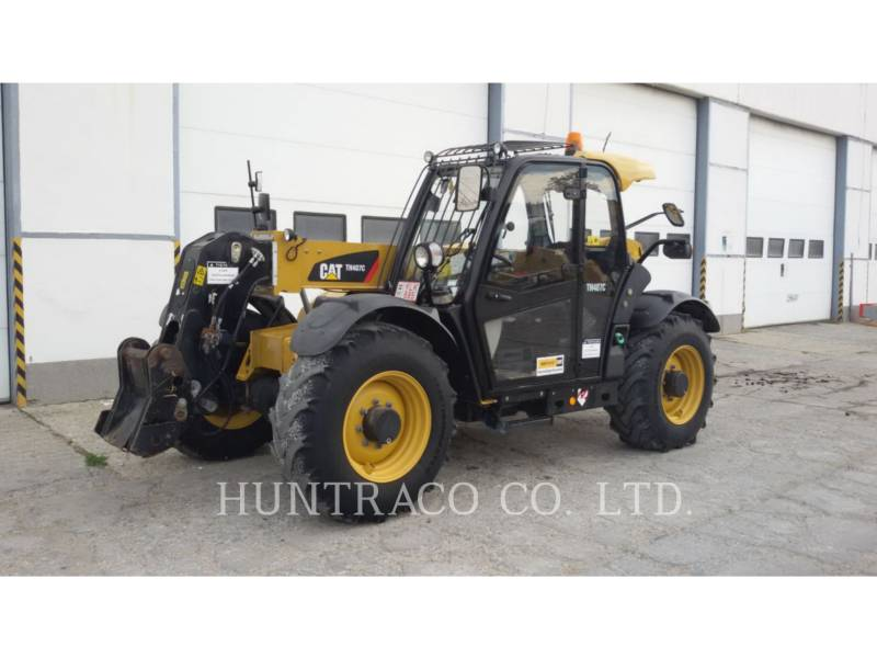 CATERPILLAR TELEHANDLER TH407C equipment  photo 1
