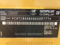 CATERPILLAR COMPACTEURS TANDEMS VIBRANTS CB66B equipment  photo 5
